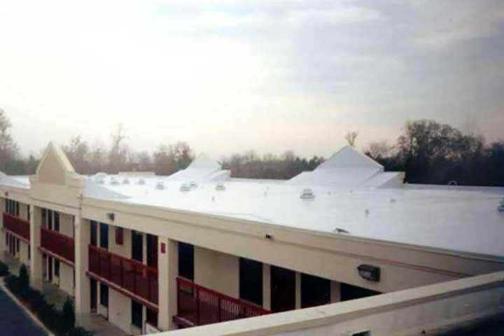 elastomeric cool roof leak repair coating energy saving