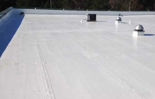 silicone acrylic energy saving roof coatings systems