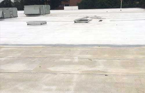 Silicone Roof Coating Over Mod Bit